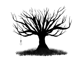 simple tree drawing clip art 42