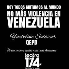 imagenes de venezuela en luto hija de productora asesinada tengo que ser la última persona que