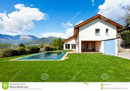 house with swimming pool house with swimming pool stock image image of outdoor 25431279