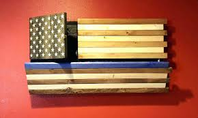 wall arts rustic wood american flag wall chic large wooden