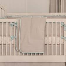 light blue linen crib bedding baby boy linen crib bedding
