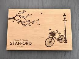 engraved wooden gifts personalized bike party favors and gifts custom engraved wooden
