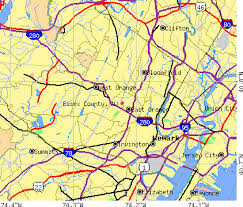 map of essex county nj essex county jersey detailed profile houses estate