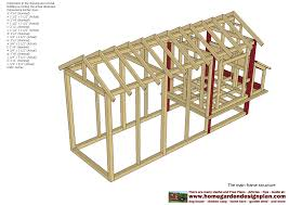 home garden plans m102 chicken coop plans construction
