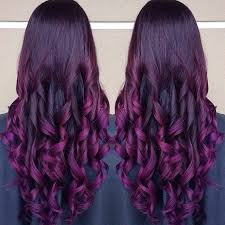 purple hair extensions purpe purple ombre hair colors with dyeable white hair