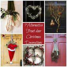 7 alternative ideas for decorating your front door this christmas
