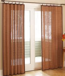Grommet Curtains For Sliding Glass Doors Drapes For Sliding Glass Doors Living Room Eclectic With Beige