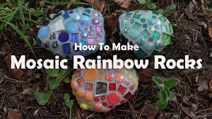 How To Create A Rock Garden by Mosaic Tutorials Mosaic Garden Rocks Youtube