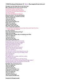 New Lyrics Team Mymister On Trans 170430 Yhy Sketchbook