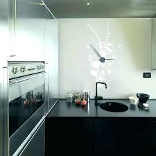 horloge pour cuisine moderne unique deco salon moderne avec pendule de cuisine originale deco