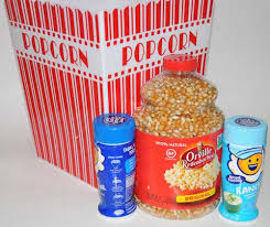 Popcorn Baskets Edible Gift Basket Ideas