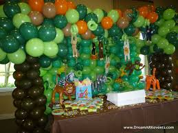 jungle birthday party dreamark events tropical jungle birthday party