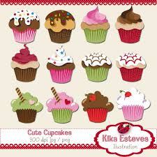 design clipart cupcake pencil and in color design clipart cupcake