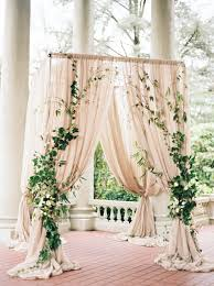 wedding backdrop altar 2017 wedding trends top 30 greenery wedding decoration ideas