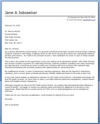teacher cover letter template teacher cover letter template