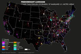 Language Map Of America by The Foreign Languages Spoken In American Cities