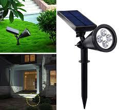solar spot light reviews amir led solar outdoor spotlight wall light outdoor designs