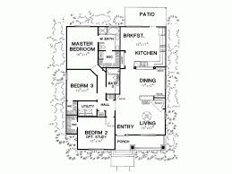 3 bedroom bungalow house designs eplans bungalow house plan three