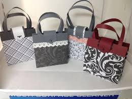 purse gift bags 手工禮袋製作示範one sheet paper purse gift bag