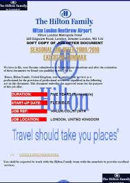 hilton hotel job offer scam email hoax slayer
