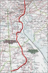 maryland byways map harriet tubman underground railroad byway delaware scenic byways