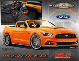 orange mustang convertible pearl orange 2017 ford mustang convertible by stitchcraft