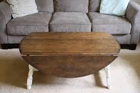 drop leaf farmhouse coffee table