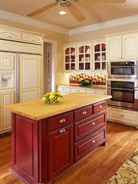 kitchens with different colored islands different color kitchen island houzz
