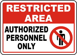 unauthorized personnel signs for sale u2013 fast shipping