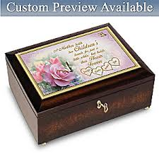 box personalized a mothers personalized box with family names