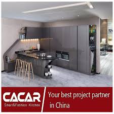 china 2017 modern furniture high gloss lacquer mdf kitchen cabinet