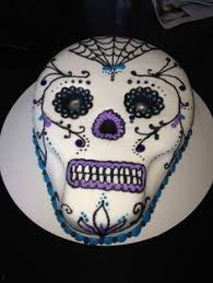 sugar skull birthday cake birthday ideas birthday