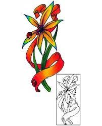Ladybug And Flower Tattoos - tattoo johnny ladybug tattoos