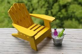 Miniature Adirondack Chair 1 Miniature Adirondack Chair Miniature Beach Chair Tin