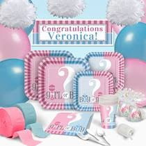 gender reveal party decorations gender reveal party supplies gender reveal decorations shindigz