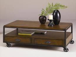 Rustic Coffee Table On Wheels The Most Rustic Coffee Table On Wheels Gmsousa In Coffee Table On