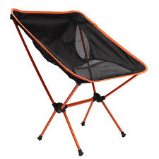 portable light weight folding camping stool chair seat for fishing