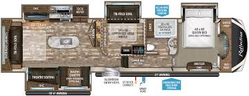 Big Country 5th Wheel Floor Plans Reflection Fifth Wheel 367bhs Grand Design Rv