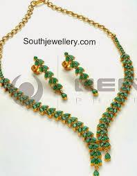 emerald necklace sets images Emeralds necklace sets latest indian jpg