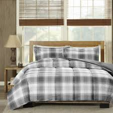 Gray Down Comforter Amazon Com Woolrich Woodsman Softspun Down Alternative Mini