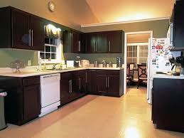 kitchen cabinet kits home depot kitchen transformed merely by repainting the cabinets