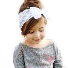 baby girl hair bands hot sale baby hair bands boys lace big bow hair band baby