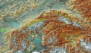 Map Of Anchorage Alaska by Alaska Range Climbing Hiking U0026 Mountaineering Summitpost