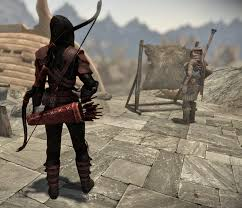 hunter src manual shadow hunter armor at skyrim special edition nexus mods and