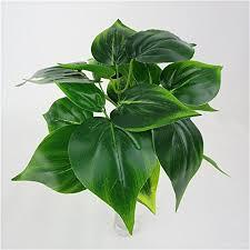 plantes pour bureau plantes à feuilles artificielle vert décoration pour bureau maison