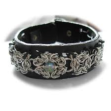 leather metal bracelet images Leather bracelet with silver celtic lace and freshwater pearl jpg