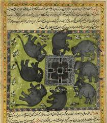 Mecca On Map The Circle Of Elephants Depicts The Attack On Mecca Around 570