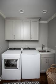 Laundry Room Cabinets With Sinks by Lovely Little Laundry