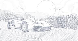 lamborghini car drawing lamborghini draw wars