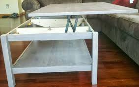 flip up coffee table hemnes lift top coffee table ikea hackers